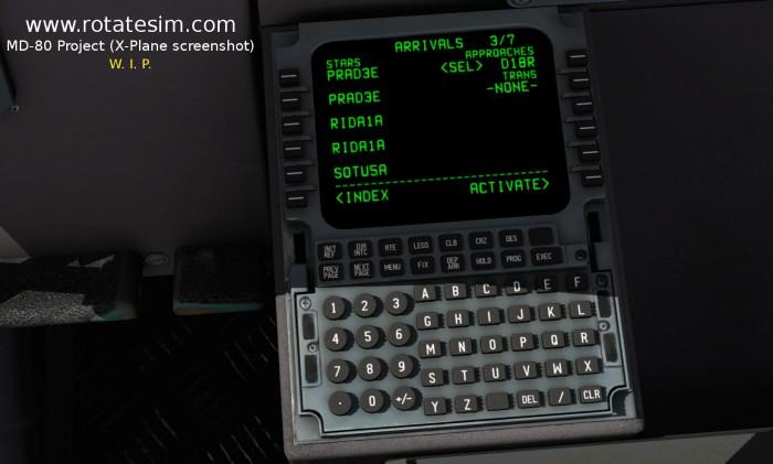 MD-80 screenshot FMC 05 ARRIVALS STARS