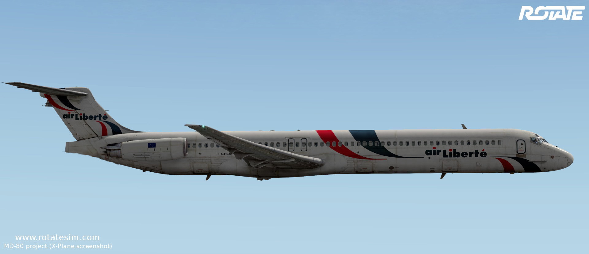 MD-80 liveries - Air Liberté