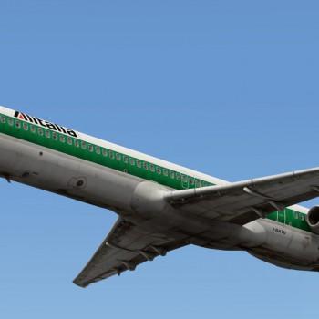 MD-80 liveries - Alitalia