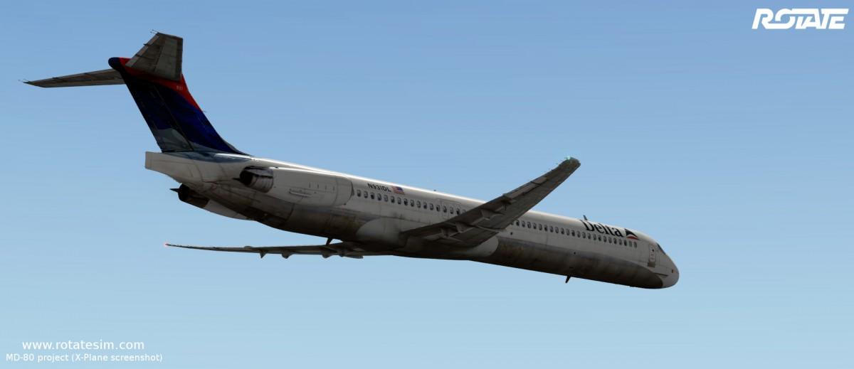 MD-80 liveries - Delta modern
