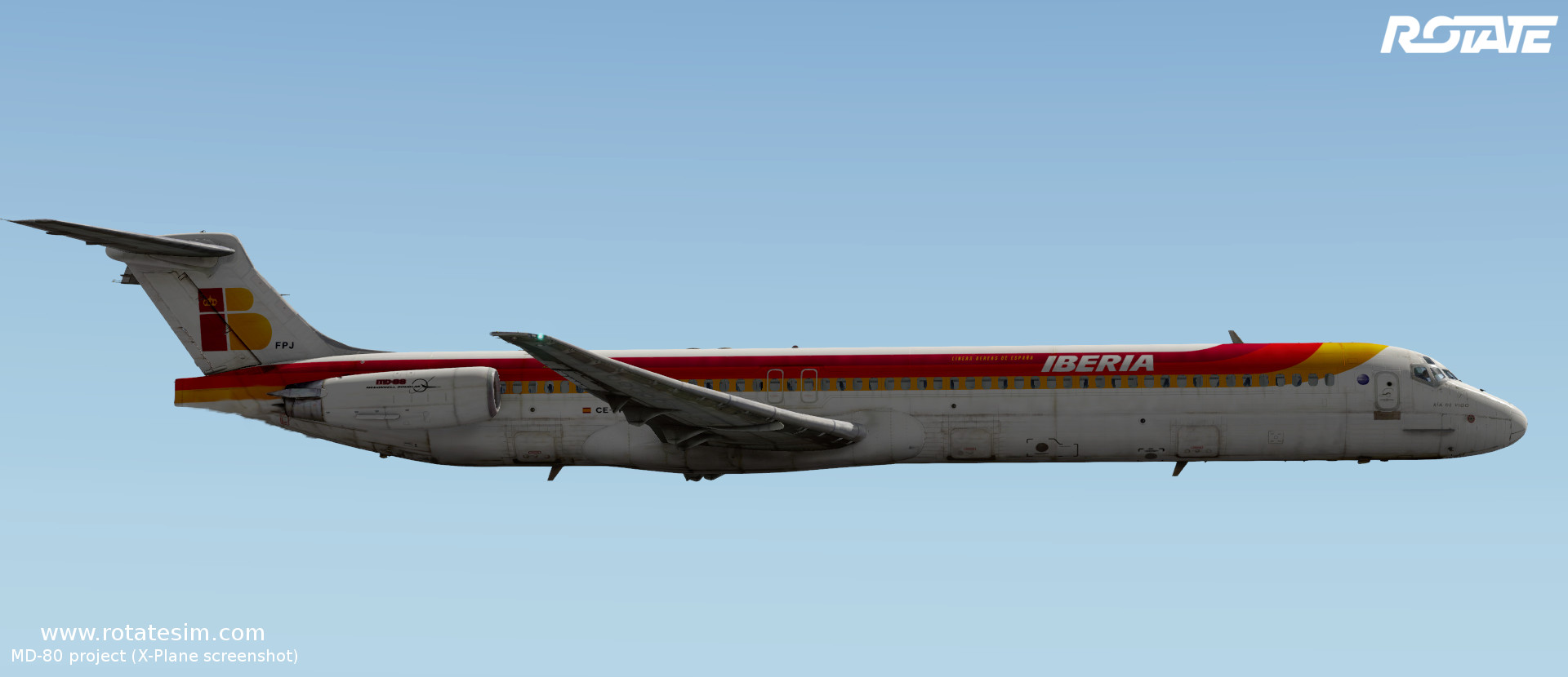 MD-80 liveries - Iberia