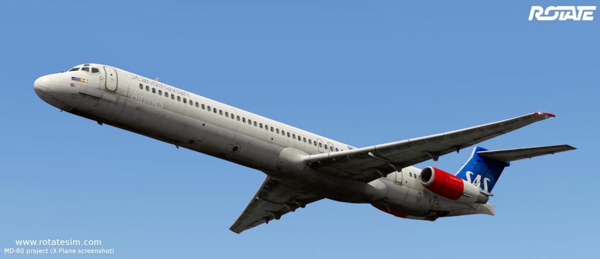 MD-80 liveries - SAS