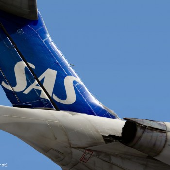 MD-80 liveries - SAS tail
