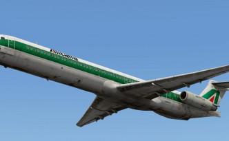 MD-80 Alitalia livery