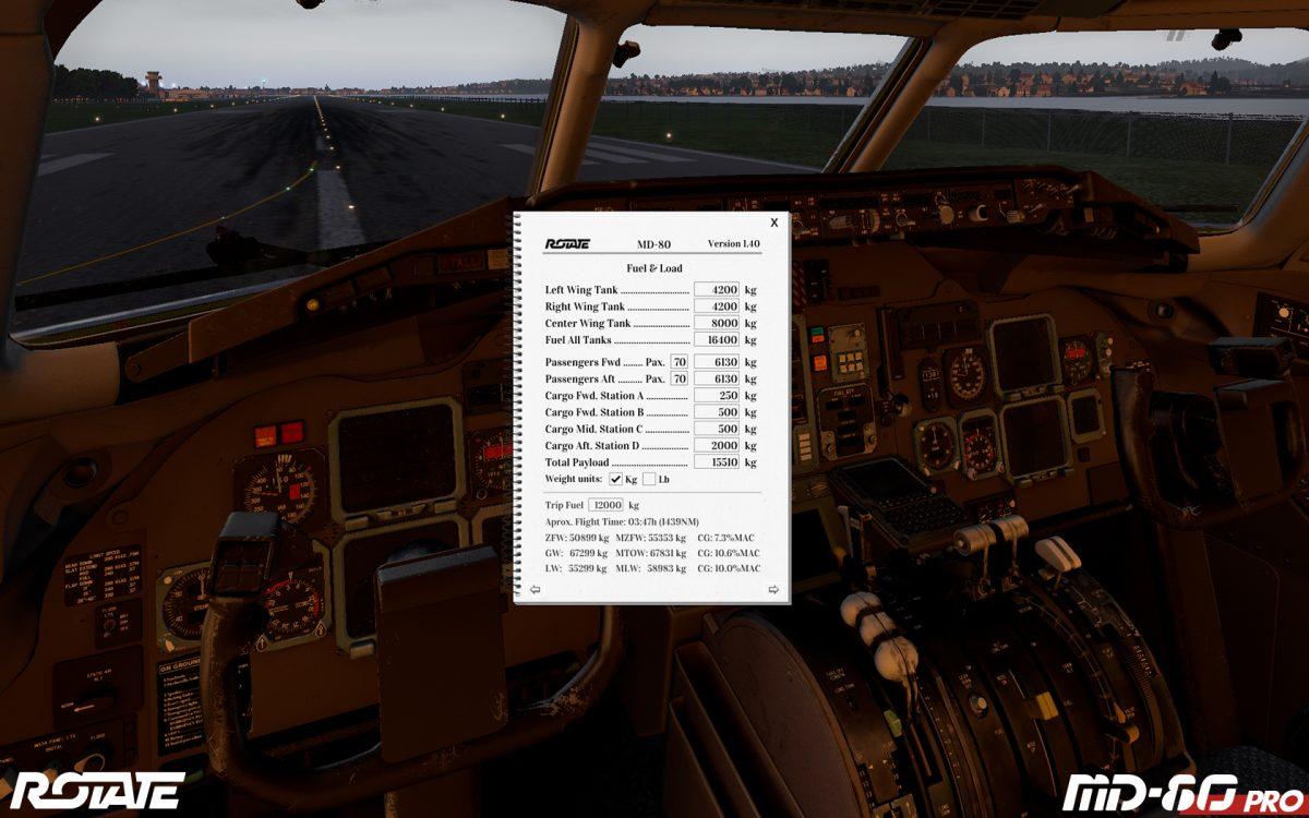Rotate MD-80v1.40 Pro. Screenshot 01.